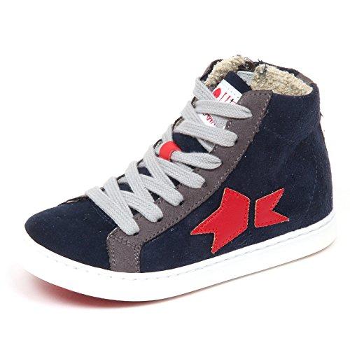 ISHIKAWA E6526 Sneaker Bimbo blu Sequel by Scarpe Shoe Baby Kid Boy  21  079146a37e3