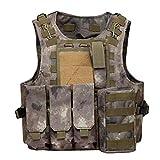 Gilet Tactique, CS Field Outdoor Equipment Supplies Respirant Gilet de Formation au...