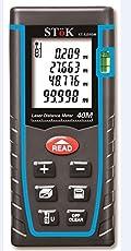 Stok St-Ldm40 - (0.05 To 40 Meters)Laser Rangefinder/ Distance Measuring Meter ,Tape 0.05 To 40M(0.16 To 131Ft)