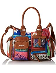 Desigual LONDON MEDIUM HAPPY BAZAR 61X50J93041U Damen Schultertaschen 32x25x12 cm (B x H x T)