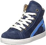 Bisgaard Unisex-Kinder Schnürschuhe Hohe Sneaker, Blau (Navy), 33 EU