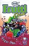 Frutti Instant Getränkepulver ohne Zucker - Geschmackrichtung: Forest Fruit Waldfrüchte 12er Packung