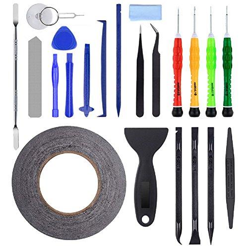 AUTOPkio 23 in 1 corredo di riparazione Tool Set per iPhone, smartphone, multimediali o altri piccoli elettrodomestici (23 in 1)