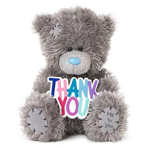 Me To You SG01W4078 5-Inch Tall Tatty Teddy with Thank You Sign Plush Toy