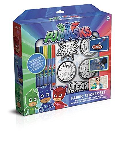 Canal Toys - PJ Masques Patches à Colorier, Pjc 001