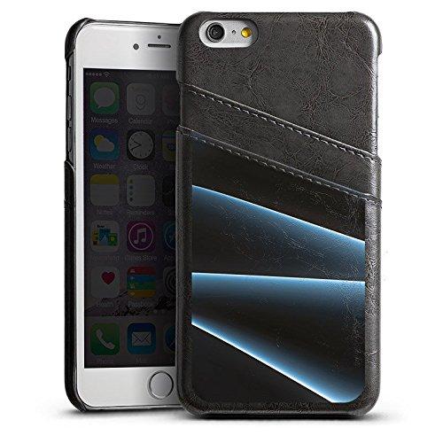 Apple iPhone 4 Housse Étui Silicone Coque Protection Fumée Fumée Brouillard Étui en cuir gris