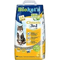 Biokat's 3 in 1 Classic - Ohne Duft Katzenstreu, 20 L
