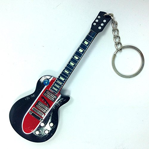 Portachiavi in Legno Forma Chitarra - Guns N' Roses - Slash - Corvette