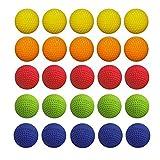 rondas recambio compatible reemplazar Bullet Balls Pack para Nerf rivales Apolo Zeus niños niños juguete arma TH588 (50pcs)