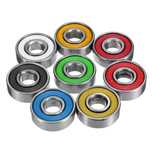 Preisvergleich Produktbild Saingace 3PCS 608 Hybrid Ball Bearings For Tri-Spinner Handspinner EDC Fidget Toy