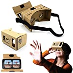 GOOGLE CARDBOARD: REVOLUTIONARY TECH FOR THE MOST IMMERSIVE VIRTUAL REALITY EXPERIENCE! Do you own a smart phone, and love the latest technology and engrossing cinematic experiences, but find the small smartphone screen doesn't quite match up? Wou...