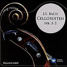 Bach: Cellosuiten Nr. 1-3