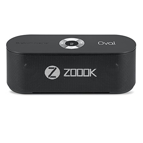 Zoook ZB-Oval Bluetooth Speakers (Black)