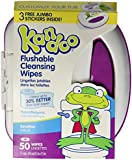 Kandoo Flushable Sensitive Toddler Wipes Tub 50Ct.
