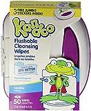 Kandoo Flushable Sensitive Toddler Wipes Tub 50Ct.