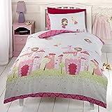 Fairy Castle Single Duvet Cover and Pillowcase Set
