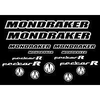 PEGATINAS MONDRAKER FACTOR R AM11 HORQUILLA FORK STICKERS AUFKLEBER ADESIVI BIKE (BLANCO/WHITE 010)
