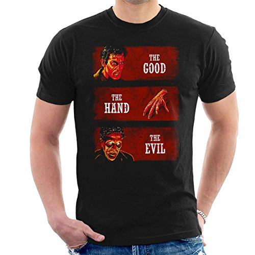 The Good The Hand And The Evil Men's T-Shirt (Dead Mans T-shirt Hand)