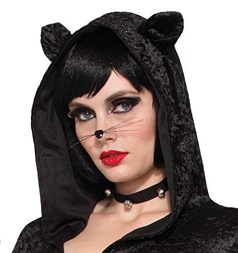 shoperama Black Cat Halsband mit Glöckchen Kostüm-Accessoire für Katze Kätzchen Schmuck Zubehör