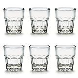 6 x bruchfestes Schnapsglas 3 cl (30 ml) - ohne Eichstrich, Stamperl, Pinnchen, Gläser Set aus hochwertigem Kunststoff (Polycarbonat), edle Gläser für Camping, Partys (wie echtes Glas)
