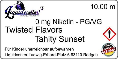 Preisvergleich Produktbild E-Liquid Tahity Sunset 10 ml - nikotinfrei