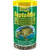 Tetra ReptoMin Hauptfutter (schwimmfähige Futtersticks für Wasserschildkröten), 1 Liter Dose