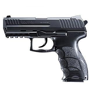 HECKLER & KOCH Softair P30. mit Maximum 0.5 Joule Airsoft Pistole Schwarz 6 mm