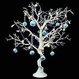 Arbre de décoration de table de mariage simulé, arbre de souhaits de mariage amovible, arbre de décoration de table pour signature de mariage (Faux arbre)...