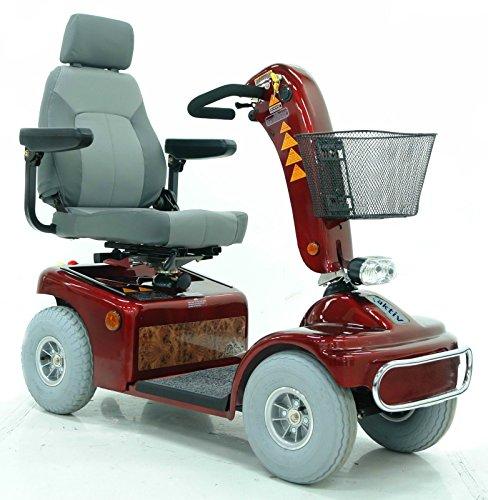 Elektromobil Shoprider TE 889 NR Amrum (6 km/h) Rot; Komfort-Sitz