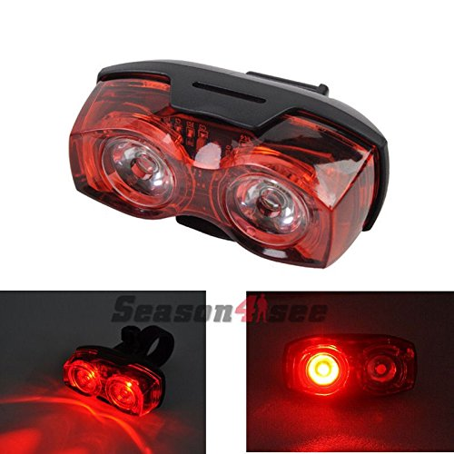 schrödinger10006 raypal 2 x led bicycle cycling cycle bike rear tail light red super bright Schrödinger10006 RAYPAL 2 x LED Bicycle Cycling Cycle Bike Rear Tail light Red Super Bright 51IlFS5GezL