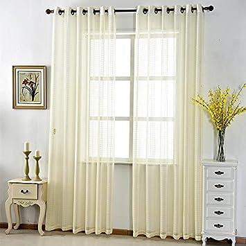 CF® Tulle Vorhang Einfache schiere Vorhänge Luxus Gestreiftes Design ...