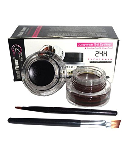 Music Flower 2 in 1 Gel Eyeliner Cake (RF-41)