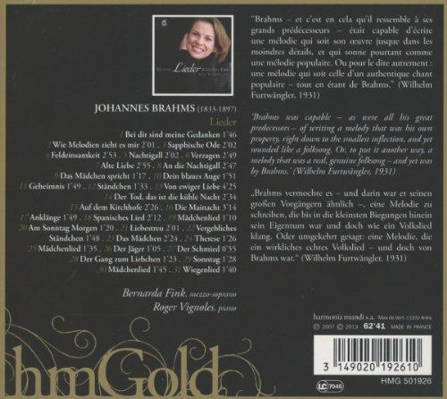 Brahms/Lieder