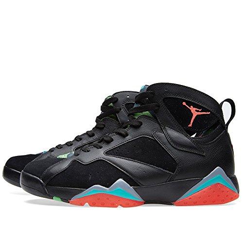 Nike - Air Jordan 7 Retro 30th, Scarpe sportive Uomo black/infrared 23-bl grpht-rtr
