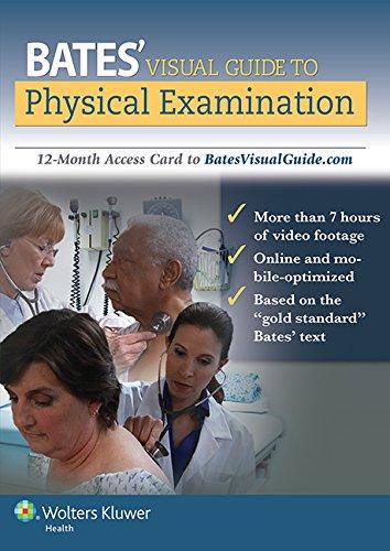 Bates Guia Visual a la Examinacion: ACCESS CARD FOR 12 MONTHS TO BATESGUIAVISUAL.COM (Bates Visual) por Lynn S. Bickley