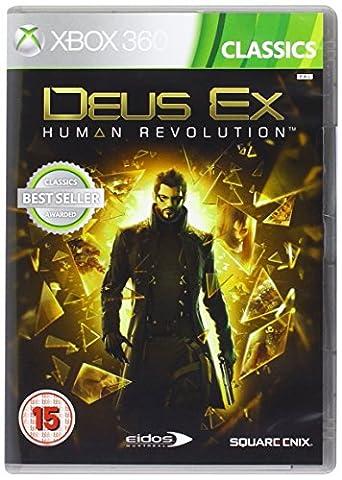 Deus Ex Human Revolution Classics Microsoft XBox 360 Game UK