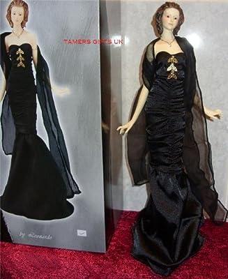 Stunning Leonardo Lady Figurine In Evening Dress Bnib