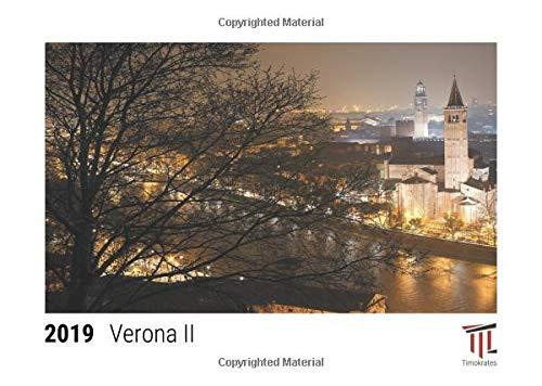 Verona II 2019 - Timokrates desk calendar, picture calendar, photo calendar - DIN A5 (21 x 15 cm)