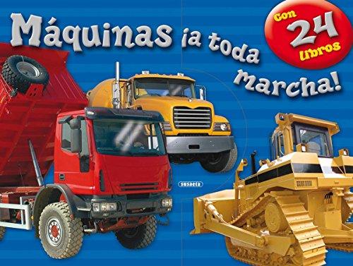 Máquinas ¡a toda marcha! (Mi estuche de libros) por Susaeta Ediciones S A