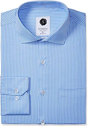 Symbol Men's Formal Stripes Regular Fit Shirt