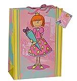 Unbekannt Geschenkbeutel / Geschenktasche Mädchen groß - Schulanfang Schuleinführung Geschenktüte Tüte Tasche Beutel