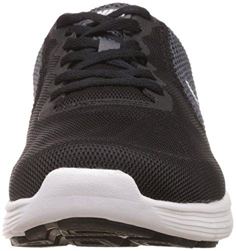 Nike Revolution 3, Scarpe da Corsa Uomo Grigio (001 Grey)