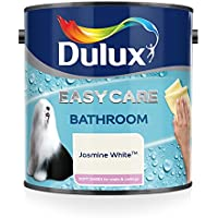 Dulux 5092178 baño Plus Soft Sheen Pintura, 2,5 litros, color blanco