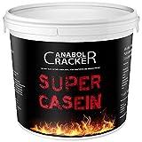 Super Casein, Eiweißpulver, 700g Eimer, Schoko oder Vanille Geschmack, Glutamin, 100% reines Milch Protein (Vanille)