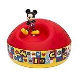 Trousselier - Mickey - Disney - Veilleuse - Projecteur d'Etoiles Musical - Piles inclues