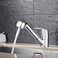 Pre & MIUM Single-Lever Kitchen Tap Kitchen Sink Mixer Tap Wall-Mounted Wash Basin Tap JSLT01