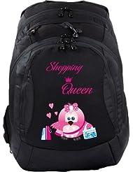 Schulrucksack Teen Compact Schultasche Rucksack - Shopping Queen