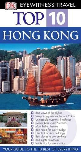 DK Eyewitness Top 10 Travel Guide: Hong Kong by Liam Fitzpatrick (2006-08-31)