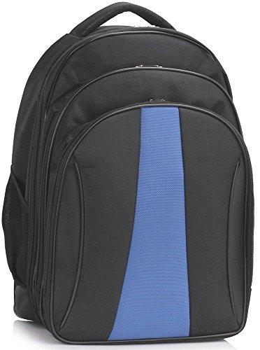 LeahWard® Herren Rucksack Taschen Damen Mode Essener Rucksack Schule Tasche Damen Qualität Berühmtheit Beiläufig Climping Schulter Handtasche CWS00444 CWS00398 CWS00399 CWS00399-Schwarz/blau