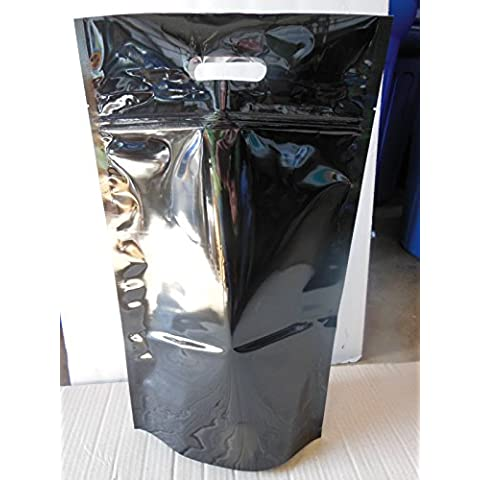 Mylar 5-Mil Resealable 5-Lb Stand-Up Bags with